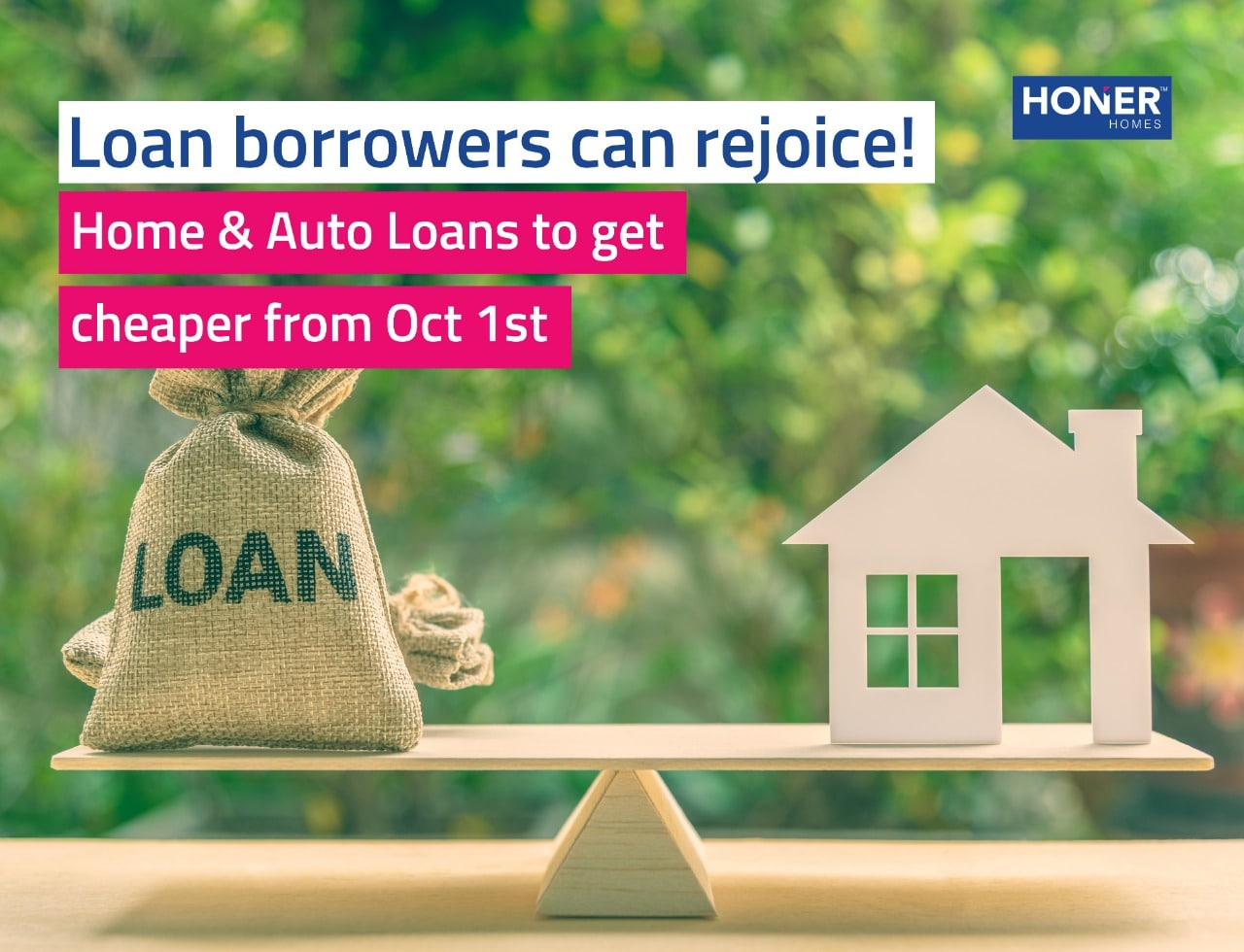 Home loan & Auto Loan get cheaper from oct - 2019