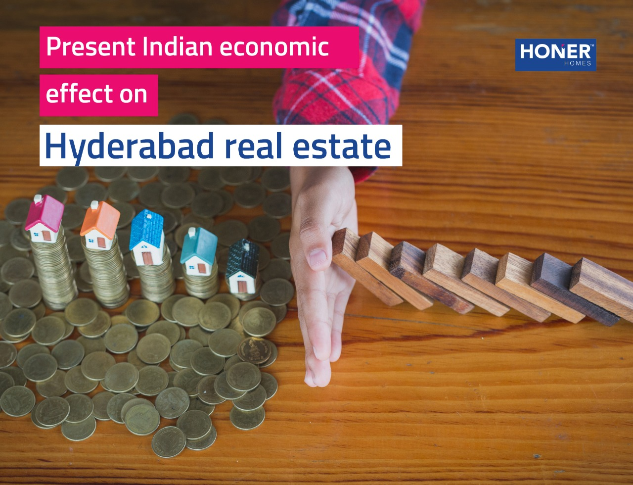 Present indian economy effect on Hyderabad Real estate